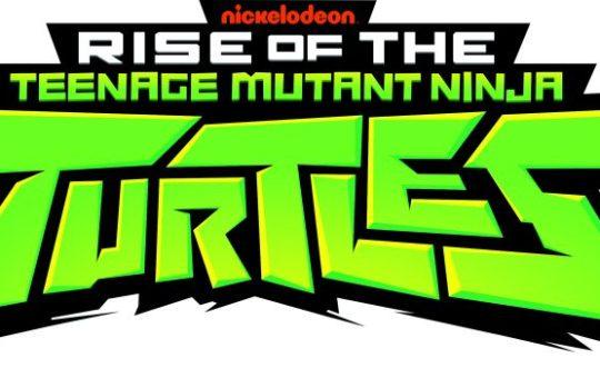 Rise of the teenage mutant ninja turtles logo TMNT