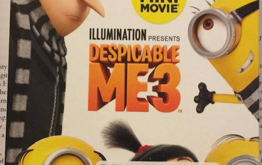 Despicable Me 3 Special Edition Blu-ray review dvd universal