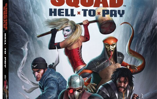 Suicide Squad Hell to Pay Blu-ray DVD release Warner Bros Home Entertainment