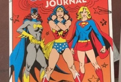 DC Comics My Girl Power Journal Downtown Booksworks review