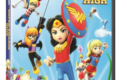 LEGO DC Super Hero Girls Super-Villain High DVD release date warner bros