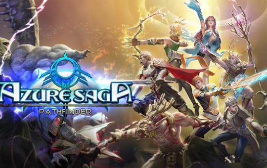 Azure Saga Pathfinder MassHive Media game Steam