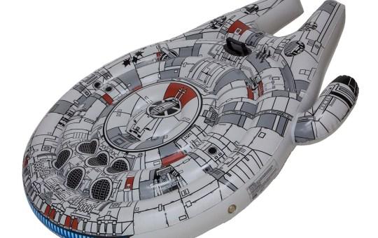 Star Wars Millennium Falcon Float