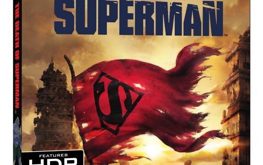 The Death of Superman 4K Ultra HD Blu-ray Digital DVD Warner Bros release