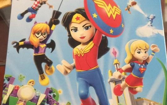 LEGO DC Super Hero Girls Super Villain High DVD review Digital Warner Bros