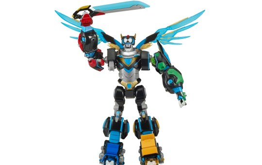 Combined Hyper-Phase Voltron with weapon