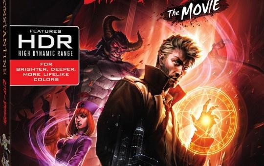 Constantine City of Demons Blu-ray Ultra HD Blu-ray Release Warner Bros
