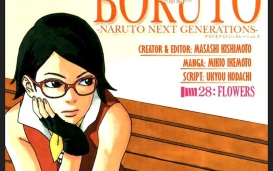 Boruto Manga Issue 28 Flowers review