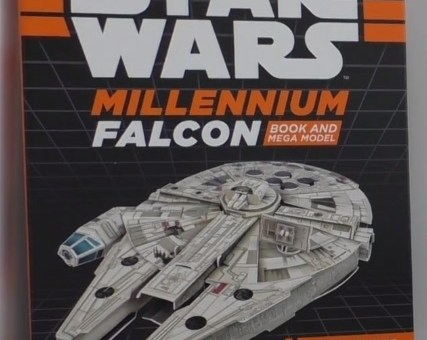 Star Wars Build Your Own Millennium Falcon Book cover