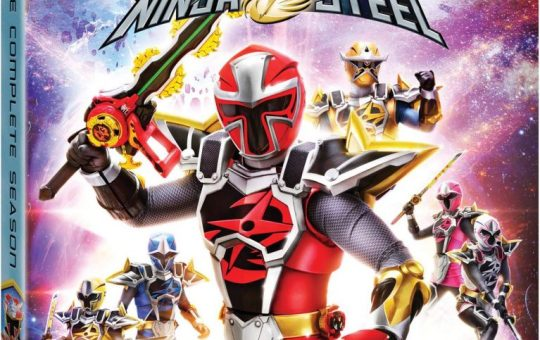 Power Rangers Super Ninja Steel DVD release