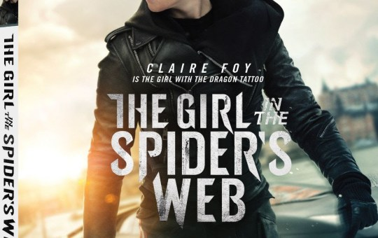 The Girl in the Spider's Web Digital Blu-ray DVD 2019 release