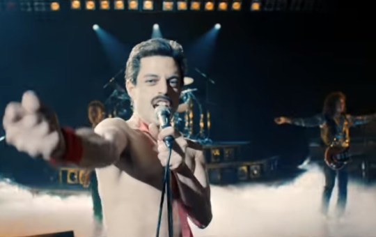 Bohemian Rhapsody Queen film Golden Globes 2019 Stomp for Queen