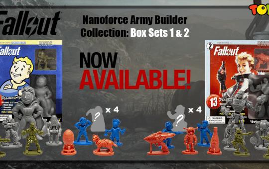 fallout nanoforce volume 1 box sets 1 and 2