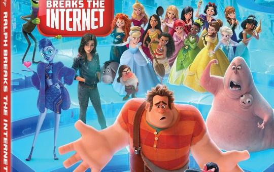 Ralph Breaks the Internet Blu-ray DVD 4k Digital Release disney