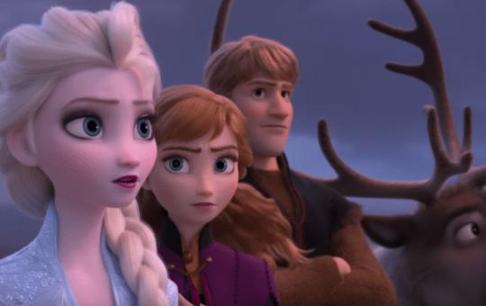 Elsa Anna Kristoff Frozen 2