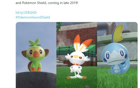 Pokemon Sword Shield game