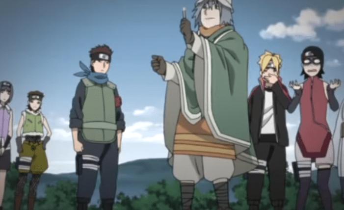 Cursed Forest Boruto Naruto Next Generations Anime Episode 98