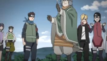 Team 25 - Boruto Naruto Next Generations Anime Episode 115