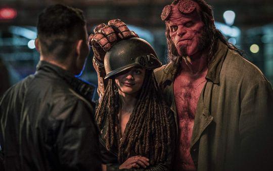 Hellboy courtesy of Summit Entertainment