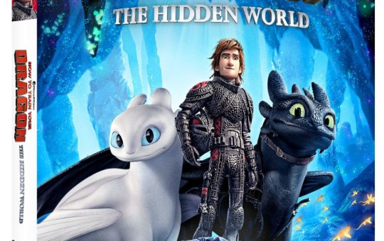 How to Train Your Dragon 3 The Hidden World Digital Blu-ray DVD 4K UHD release
