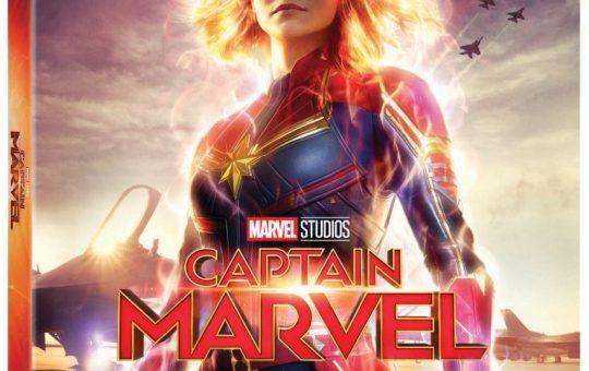 Captain Marvel Blu-ray DVD release