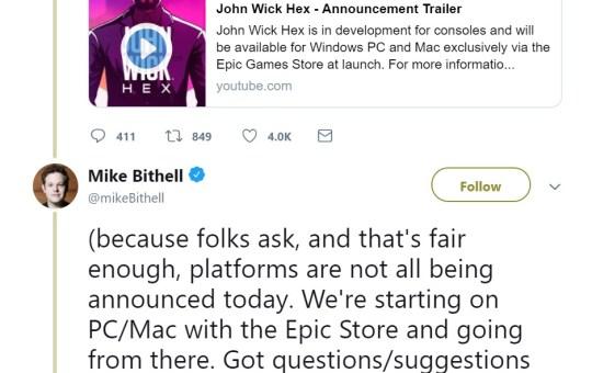 john wick hex game release