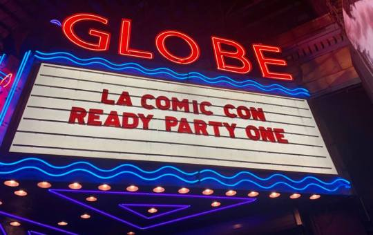 los angeles comic con ready party one