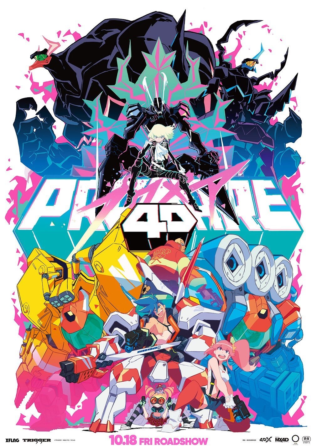 Promare To Return To Theaters For One Day Only - The Geekiary