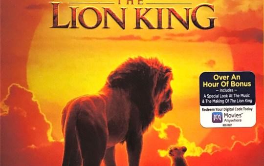 Lion King BLU-RAY edition