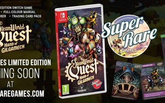 SteamWorld Quest Nintendo Switch Physical 2019