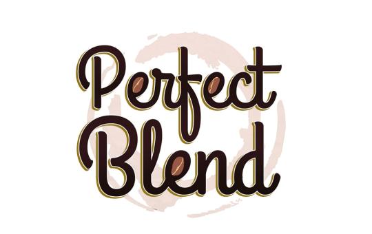 perfect blend logo