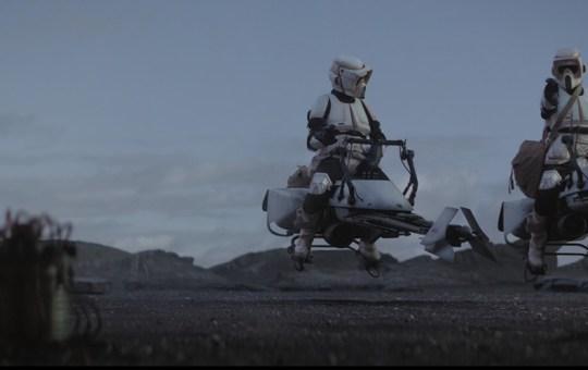 Redemption Episode Storm Troopers Speeders