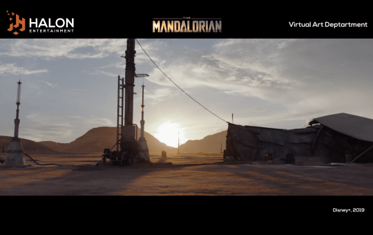 Halon Entertainment The Mandalorian