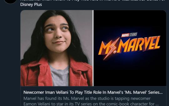 Iman Vellani Ms Marvel Kamala Khan Disney