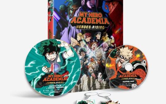 Heroes Rising My Hero Academia Blu-ray DVD Digital