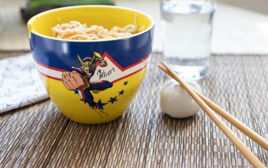 My Hero Academia ramen bowl toynk