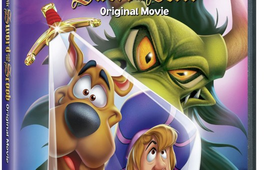 Scooby-Doo The Sword and the Scoob DVD
