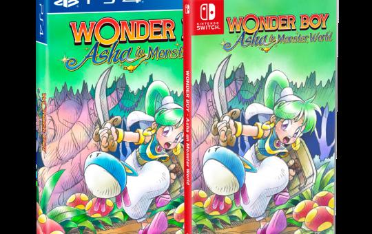 Wonderr Boy Asha in Monster World
