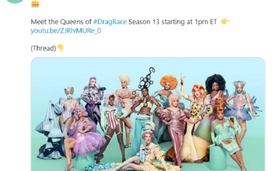 rupauls drag race season 13 debut