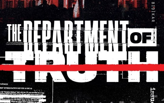 department of truth issue 5 review