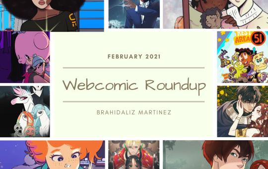 Webcomic Roundup Feb 2021