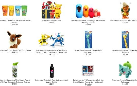Pokemon 25th Anniversary Toynk Collection