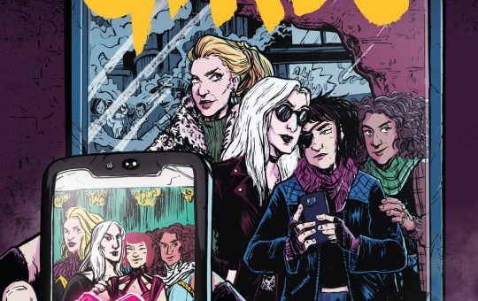 The Final Girls Issue 1 Cover