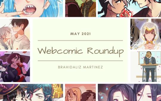 Webcomic Roundup May 2021 Graphic