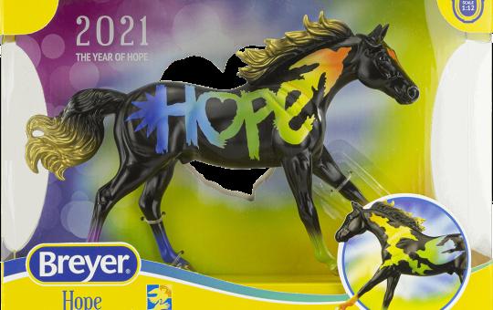 Hope Horse 2021 Breyers Covenant House