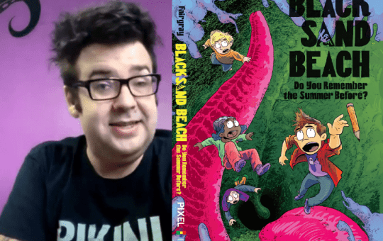 richard fairgray interview black sand beach issue 2