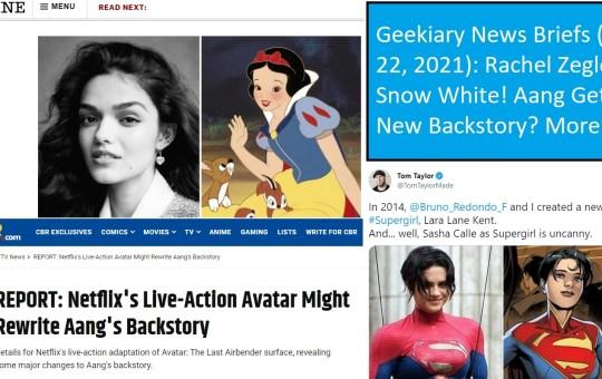 snow white geekiary news briefs june 22 2021