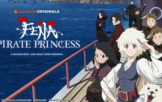 Fena Pirate Princess Adult Swim Crunchyroll