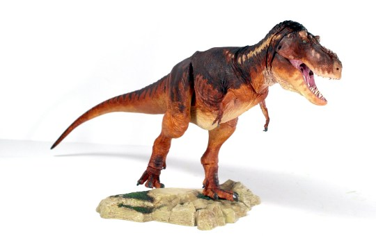 tyrannosaur action figure beasts of the mesozoic