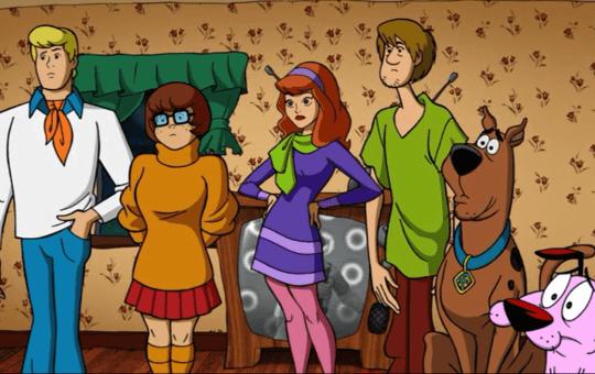 Scooby Doo Meets Courage
